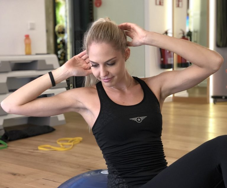 Das Fitness Training der Top Models
